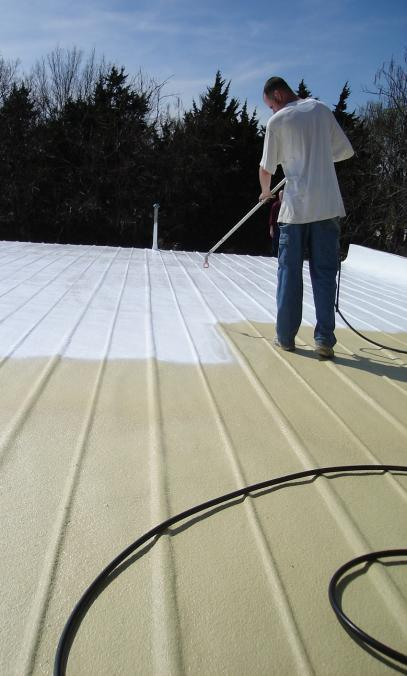 Metal Roof Restoration   Arma Coatings of Wichita