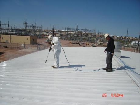 Department of Energy spray foam roof, South Dakota