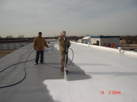 Missouri DOT roofing project, Springfield