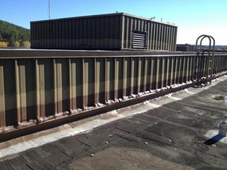 Pagosa School commercial air barrier