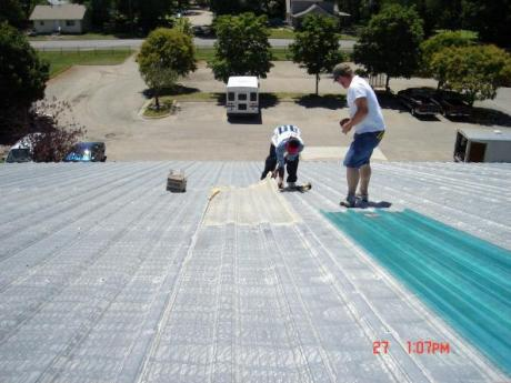 St. John's roofing project